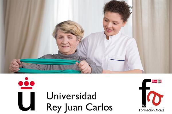 CERTIFICADO POR LA UNIVERSIDAD REY JUAN CARLOS. La rehabilitación del paciente geriátrico