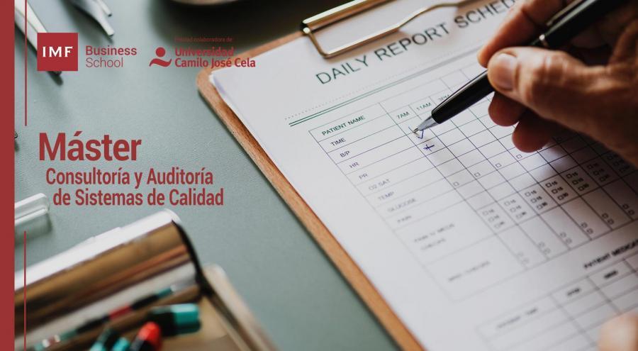 Máster en Consultoría y Auditoría de Sistemas de Calidad y Excelencia